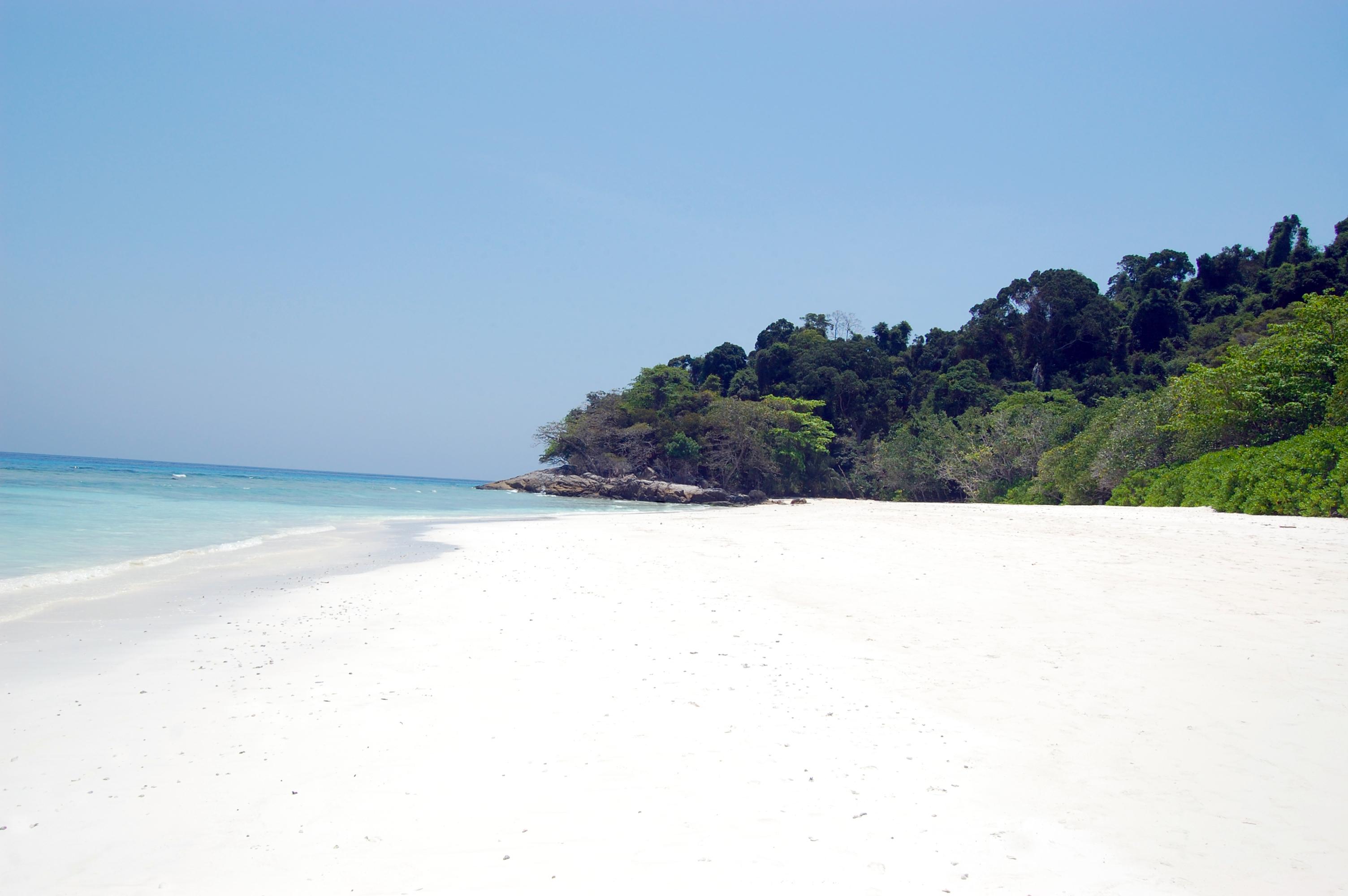 Traumstrand auf Tachai Island