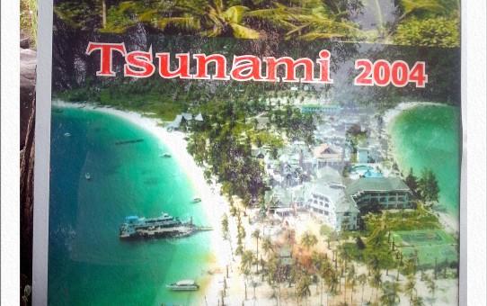 Tonsai Beach vor und nach dem Tsumani
