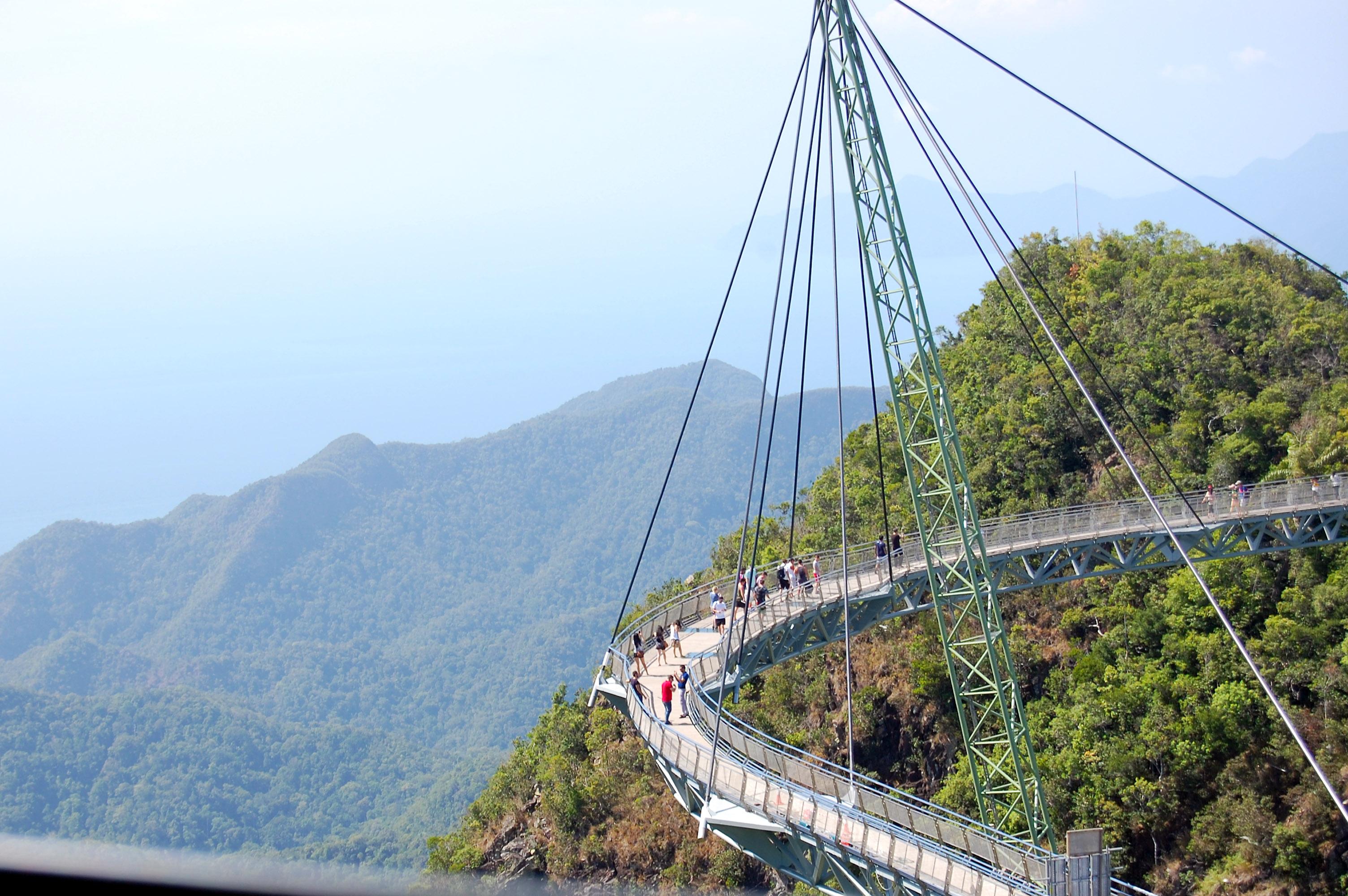 Die Skybridge von Langkawi