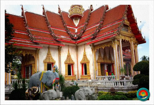 Wat Chalong Tempel auf Phuket