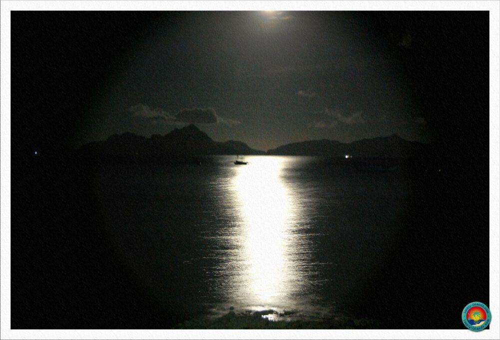 Mondschein in El Nido